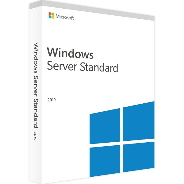 Windows Server 2019 standard WITH 50 USER CALS